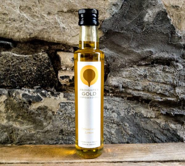Broighter Gold Lemon Oil Rapeseed