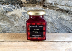 Made with Love Plum & Vanilla Jam