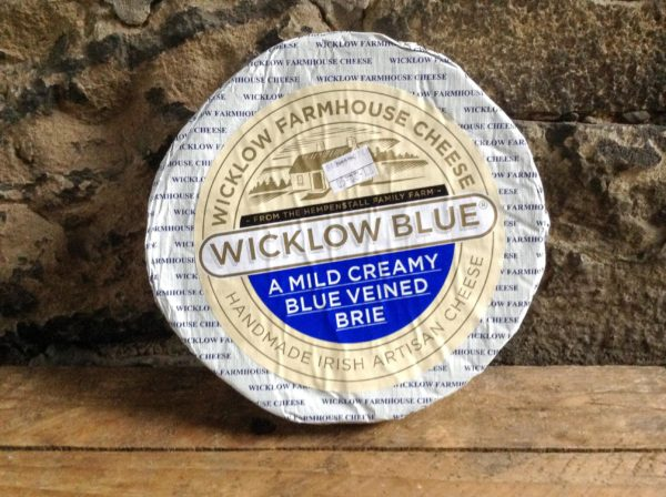 Wicklow Blue Brie Whole