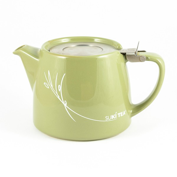 suki teapot stump olive green atpsuki