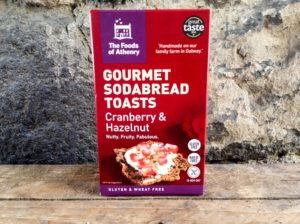 Foods of Athenry Cranberry Toasts