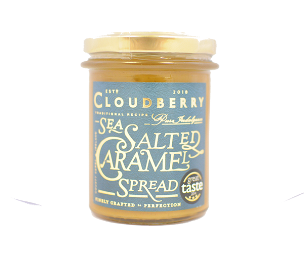 Cloudberry Sea Salted Caramel Spread Front