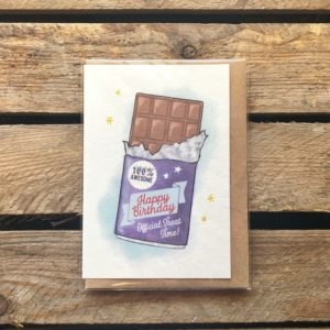 Arbee Cards Birthday Card - Chocolate - Indie Füde