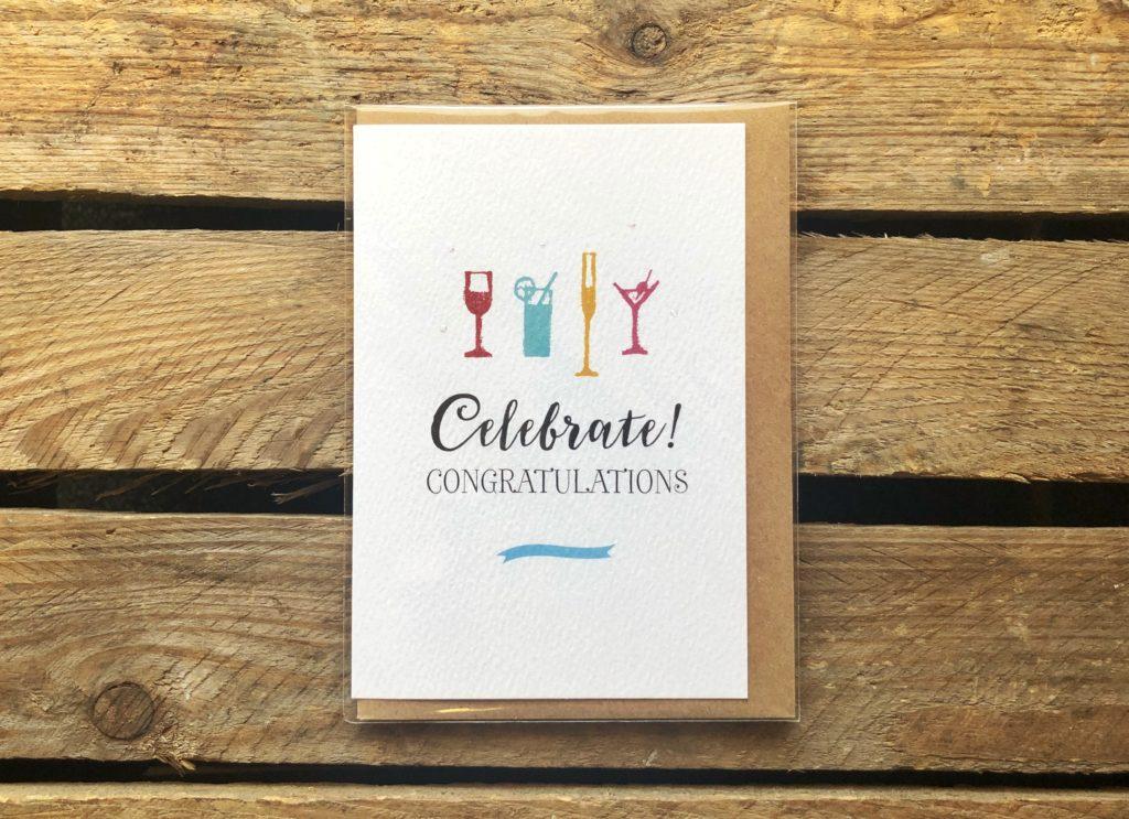 Congratulations Card - Arbee Cards - Indie Fude