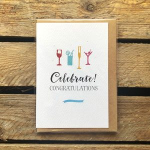 Congratulations Card - Arbee Cards - Indie Fude