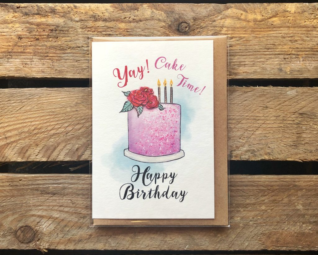 Birthday Card - Arbee Cards - Indie Fude