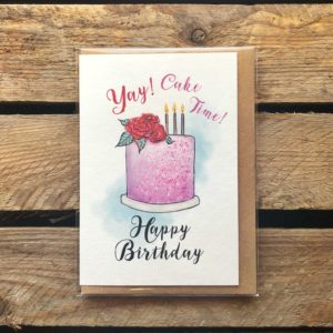 Birthday Card - Arbee Cards - Indie Fude