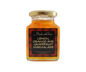 Made with Love lemon, orange and grapefruit marmalade