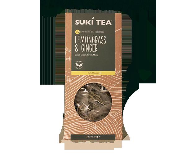 Suki Tea Lemongrad and Ginger
