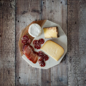 Irish Cheese and Charcuterie Gift Hamper - Indie Fude