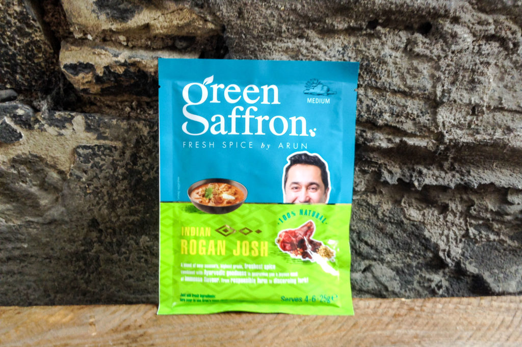 Green Saffron Rogan Josh