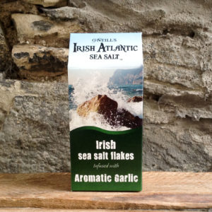 Irish Atlantic Sea Salt Garlic