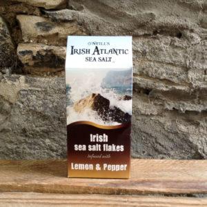 Irish Atlantic Sea Salt Lemon & Pepper