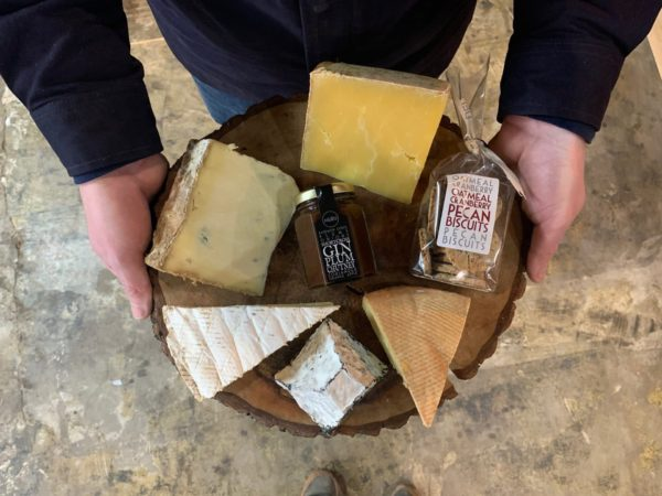 December Cheese Board - Indie Fude